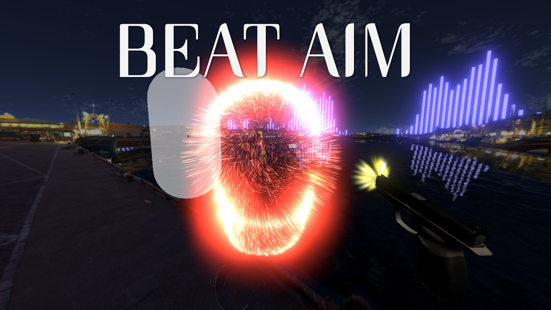 BeatAim - rhythm game designed for FPS players with ai generated maps